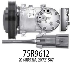 Product image Red Dot 75R9612 compressor