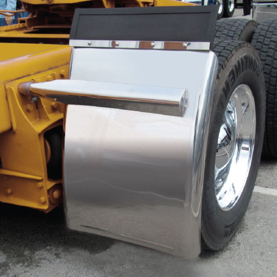 Trailer Fender Boxes : Fender mount tfen q a semi truck parts and accessories