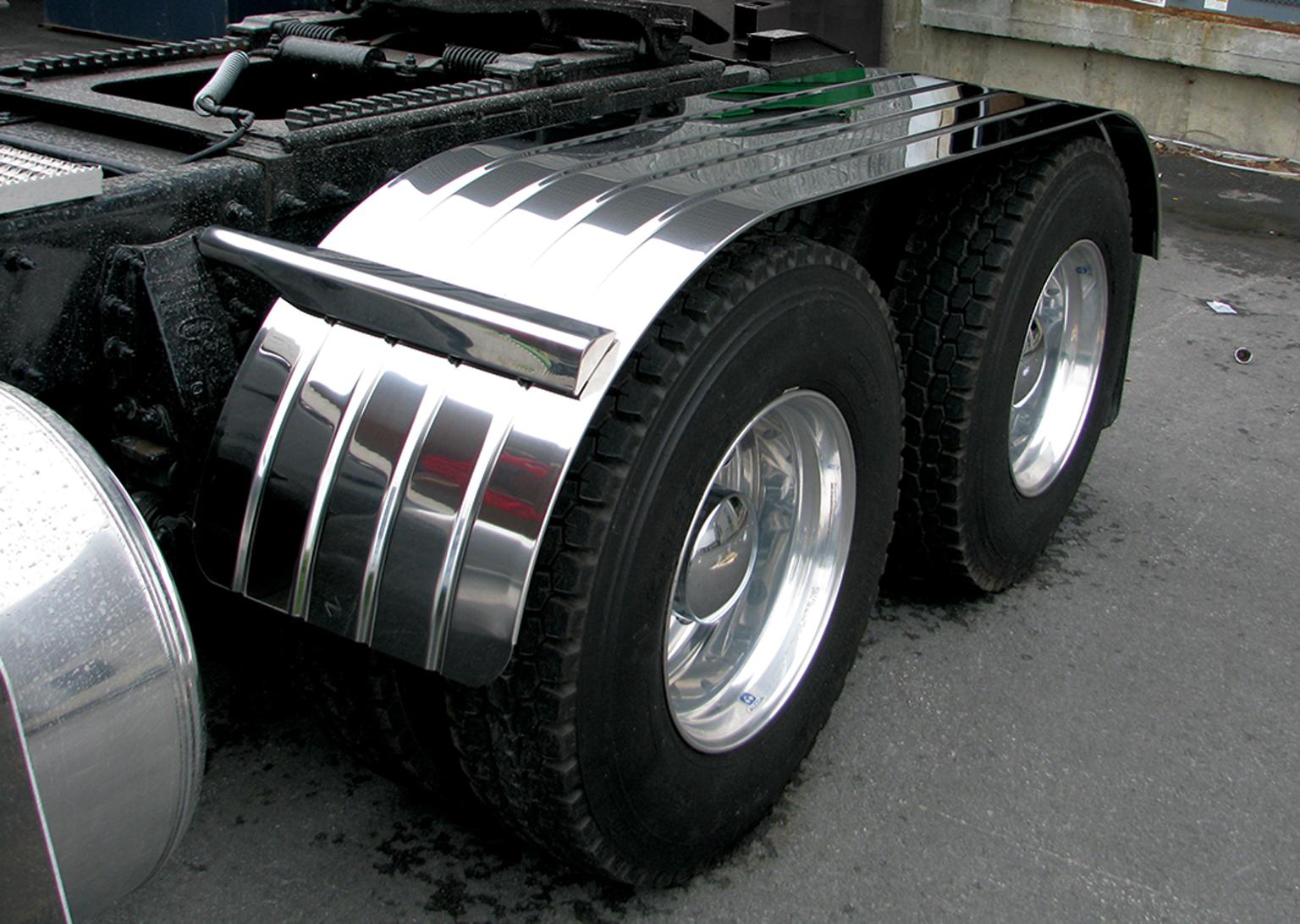 Semi Fender Lights : Freightliner fender tfen f semi truck parts and