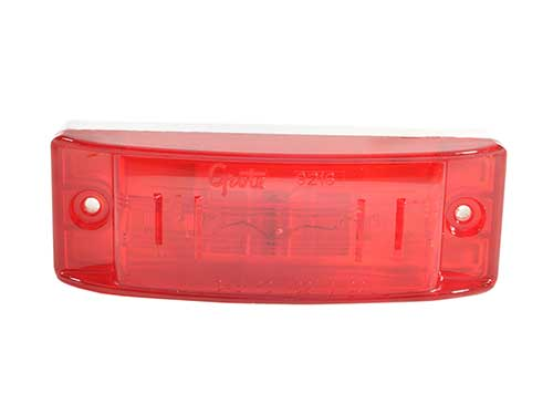 Grote Red Marker Light Front View