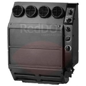 Red Dot Heater A/C Unit with 4 vents